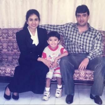 Zeeshan Khan family