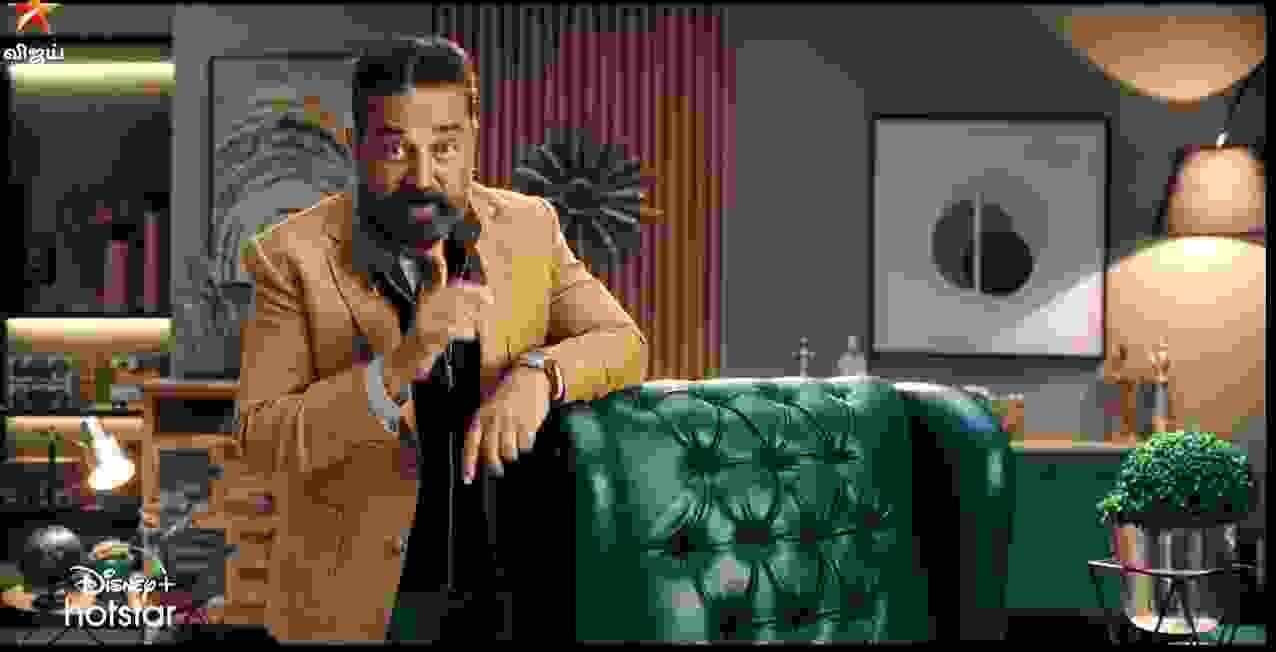 Kamal Hasan as a Host in Bigg Boss Tamil Season 5