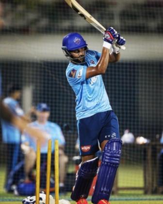 Lalit Yadav right handed bat