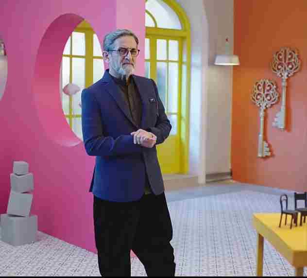 Mahesh Manjrekar as a host
