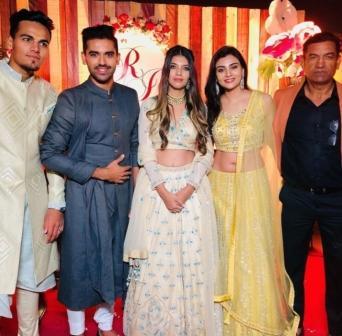 Deepak Chahar family