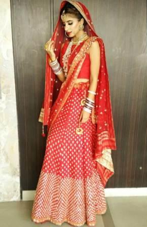 Miesha Iyer look in saree