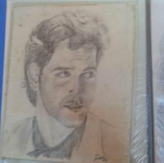 Mouni Roy sketches of Hrithik Roshan