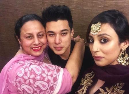 Pratik Sehajpal family pic