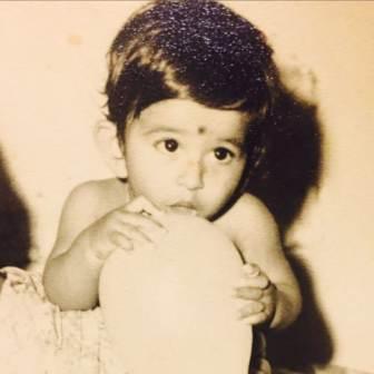Vishal Kotian childhood photo